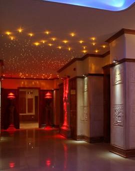 lobby crystals