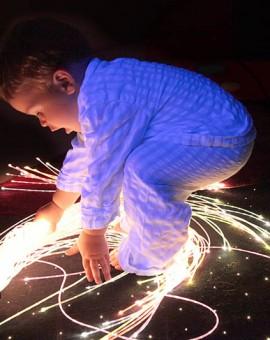 illuminazione sensoriale a fibra ottica 3