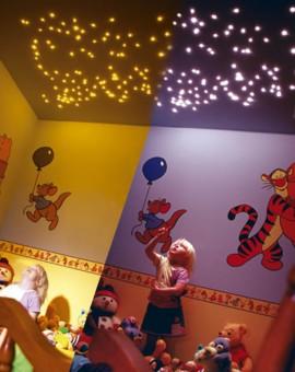 KIDS BEDROOM STAR CEILING 2