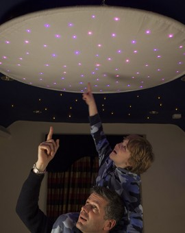 Max star ceiling ring